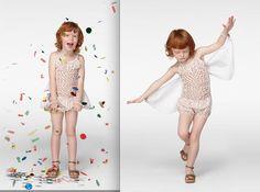 Stella McCartney kids. Children model