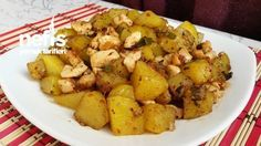 Tavuklu Patates Kavurması