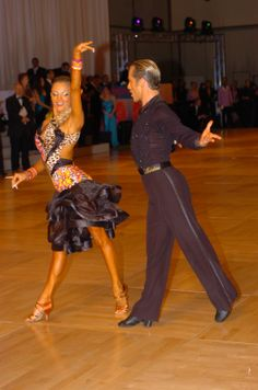 Yulia and Riccardo 2010 Champions. Hottest ballroom dancers