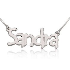 Name Necklace Jewelry Sterling Silver 925 by GoldenRing2k16