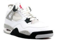 8a7f2f38fd7 Air jordan 4 (black  cement gray- fire red)
