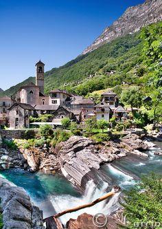 Lavertezzo-Ticino-Switzerland
