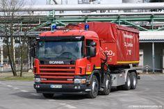GE-WF 3333  (2004) ( Scania P 124 GB 8x4  )Werkfeuerwehr Ruhr Oel GmbH