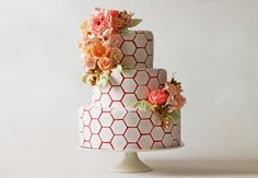 geometric cakes - Google Search