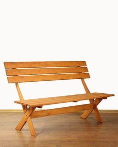 Ławka impregnoana drewniana BBKM-L - cena: 178zł Outdoor Furniture, Outdoor Decor, Bench, Home Decor, Decoration Home, Room Decor, Home Interior Design, Desk, Backyard Furniture