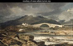 Tummel Bridge, Perthshire, c.1801-03 - Joseph Mallord William Turner - www.william-turner.org