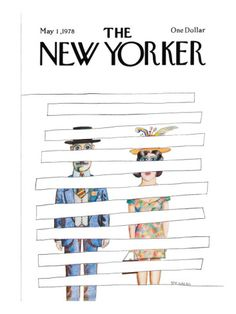 The New Yorker Cover - May 1, 1978 Poster Print by Saul Steinberg at the Condé Nast Collection