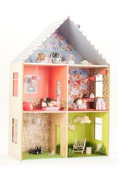 Doll's House - Washi Tape - Top 10 ways to use Washi Tape (houseandgarden.co.uk)