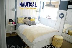 nautical teen bedroom header