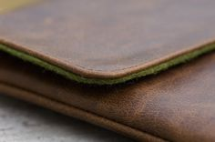 """Ultrabook Leather Sleeve  """"The Hand Flattering Edition"""" #ultrabook"""