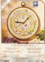 Gallery.ru / Фото #1 - 46.433 - geminiana Kit, Pendulum Clock, Lavender, Clock, Embroidery