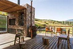 Una casa con estilo patagónico contemporáneo | ESPACIO LIVING
