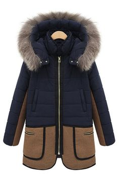 SHARE & Get it FREE   Stylish Faux Fur Splicing Hooded Long Sleeve Color Block Women's CoatFor Fashion Lovers only:80,000+ Items • New Arrivals Daily • Affordable Casual to Chic for Every Occasion Join Sammydress: Get YOUR $50 NOW!