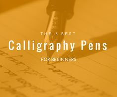 1000 Ideas About Calligraphy Pens On Pinterest Pens