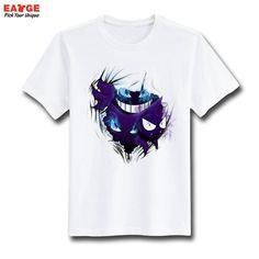 b9400d00 [EATGE] Fashion New Design T Shirt Pokemon Pikachu Funny Cool T-shirt Short