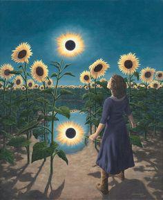 Rob gonsalves, sunflower eclipse