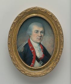 General Henry Knox  Charles Willson Peale (American, Chester, Maryland 1741–1827 Philadelphia, Pennsylvania)  Date: 1778 Medium: Watercolor on ivory (miniature)