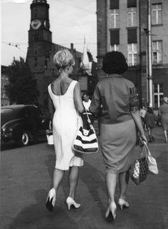 wrocławska ulica, lata 60