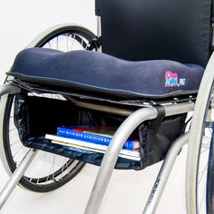 Utilize the space under the Wheelchair giving user safe storage for important items. Use with WH190 or WH180 for additional storage opportunities. Easily attaches with Velcro straps. 14W X 11H X 4D Av