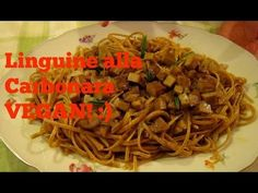 Linguine alla Carbonara VEGAN! ;) |RicetteFelici - YouTube