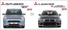 Mitsubishi Outlander Phev 2014 & Lancer & Sportback 2015 Workshop Manual