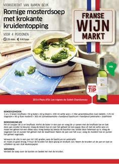 Romige mosterdsoep met krokante kruidentopping - Lidl Nederland