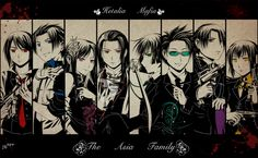 APH Mafia - the Asia Family by Lo-wah.deviantart.com on @deviantART - This is an interesting spin-off/what-if idea, even if the Mafia and its activities is not really my thing. Click the pin to read a thorough description as to each character's role within the group.