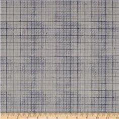 Tim Holtz Electic Elements Correspondence Graph Blue