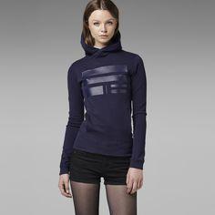 G-Star RAW | Dames | Sweatshirts | KURSTEN HOODED SWEAT