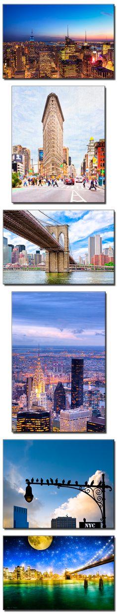 New York City Art Prints - Landmarks and Skylines