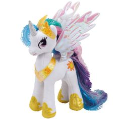 Ty Princess Celestia Beanie Babies Plush at The Paper Store