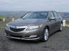 2014 Acura RLX debuts with four-wheel-steering, LED headlights