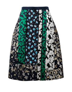 Patchwork Skirt   Marissa Collections