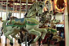 Western Washington State Fair Carousel PTC Horses  © Jean Bennett