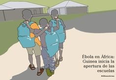 #Ébola en África: Guinea inicia la apertura de las escuelas #dibunoticias