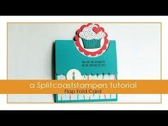 Flap Fold Card Tutorial - Splitcoaststampers