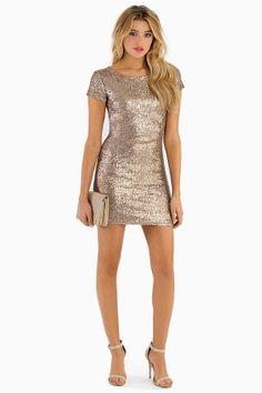 Charming Sparkle Dress $78 on Wanelo