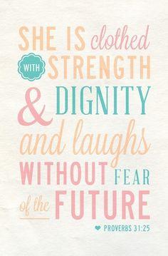 Aspiring Proverbs 31 woman
