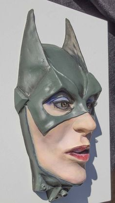 Each sculpture of the Superhero and Villain Art Collection is Hand Sculpted and individually Airbrushed by Kobus Deysel. Sculpting, Sculptures, Batman, Creatures, Superhero, Night, Fictional Characters, Art, Art Background