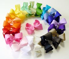 Hey, I found this really awesome Etsy listing at https://www.etsy.com/listing/153080313/little-girls-hair-bow-set-small-toddler