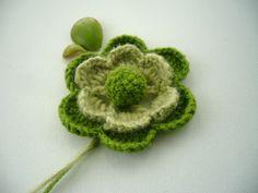 crochet flower  http://www.etsy.com/shop/CraftsbySigita?ref=si_shop