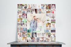 Custom Photoshop and InDesign Template Storyboard Collage for Photographers   Design Aglow