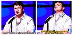 Love how Nathan Fillion just can't let it go....like the rest of us.