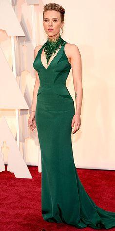 Academy Awards 2015: Arrivals : Scarlett Johansson