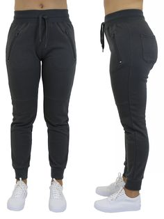 a6f177f63ad0cd Women s Jogger Pants With Zipper Pockets