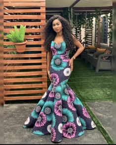 30 Trendy Ankara Styles For Wedding You'll Love - Ankara collections brings the latest high street fashion online African Fashion Ankara, Latest African Fashion Dresses, African Print Fashion, African Dresses For Kids, African Prom Dresses, African Clothes, Ankara Long Gown Styles, Ankara Styles, Dress Styles