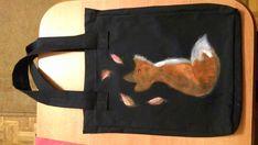 Szoperka z ręcznie malowanym liskiem