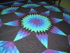 Free broken star quilt pattern thangles Download Quilting Pinterest Beautiful, Patterns ...