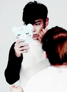 Mirror, mirror.... I am so pretty #top #choiseunghyun #bigbang