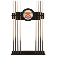 Virginia Military Institute Keydets Billiard Cue Rack